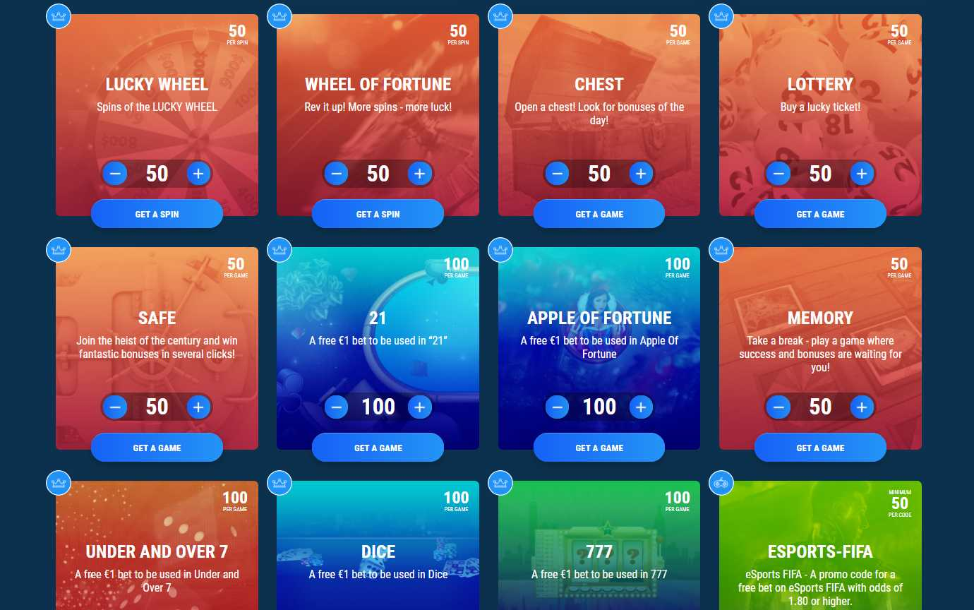 1xBet - currency used for promo code activation